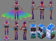 Ahri Arcade Model 01