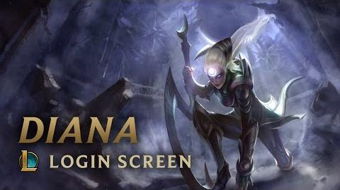 Diana - ekran logowania