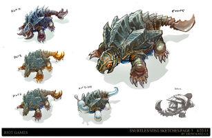 Kluft der Beschwörer Update Monster Konzept 03