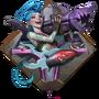 LoR Jinx's Mayhem Board icon