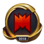 Worlds 2018 Infinity eSports CR (Gold) Emote