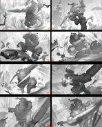 Master Yi SnowManYi Splash Concept 01