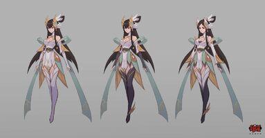 Irelia Himmlisches Schwert Konzept 03