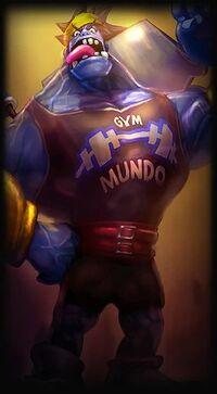 Dr. Mundo Mr. Mundoverse L alt