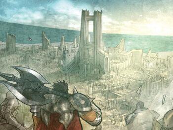 Darius onlooking Basilich