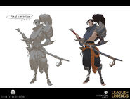 Yasuo Kin of the Stained Blade Concept 24