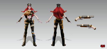 Miss Fortune Straßenkriegerin- Konzept