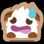 Poro sticker sweat