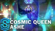 Kosmische Königin Ashe - Skin-Spotlight