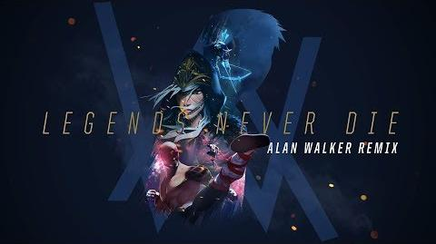 Legends Never Die (Alan Walker Remix) - Mistrzostwa 2017