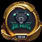 Worlds 2018 Dire Wolves (Gold) Emote