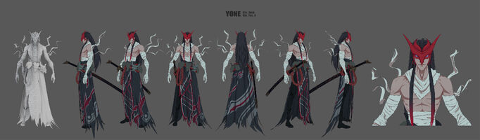 Yone Brüder der Blutbefleckten Klinge Model 01