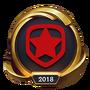 Emotka Mistrzostwa 2018 – Złote GMB