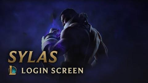 Sylas, the Unshackled - Login Screen