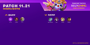 TFT 11.21 Patch Highlights