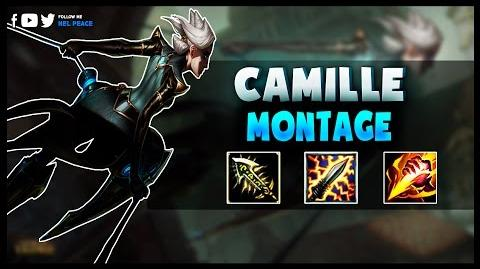 Camille Montage - First Pentakill - Best Camille Plays