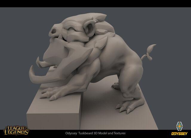 Odyssey Tuskbeard concept 02