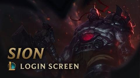 Sion - ekran logowania