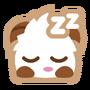 Poro sticker sleepy