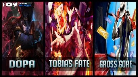 Dopa vs Gross Gore vs Tobias Fate - Gods of Twisted Fate 😱