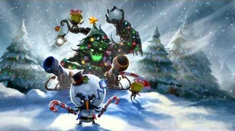 League of Legends SNOWDOWN SHOWDOWN 2011 Login Theme