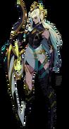 RotS Model Diana Sentinel Eyes Closed