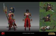 Nidalee WarringKingdoms Concept 01