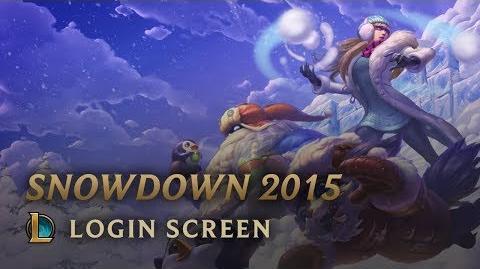 Snowdown Showdown 2015 - ekran logowania