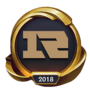 Worlds 2018 Royal Never Give Up (Gold) Emote