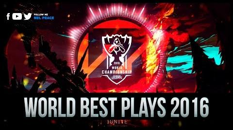 Worlds Best Plays - Outplays 2016 - Part 2