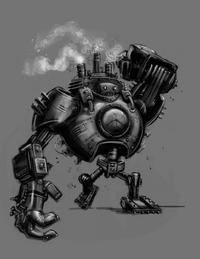 Blitzcrank Konzept Zeichnung 2