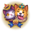 Dogs vs Cats Emote