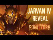 Jarvan IV Reveal - New Champion - Legends of Runeterra