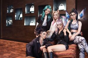 KDA ALL OUT Promo 13