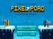 Pixel Poro Menu