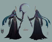 Soraka Reaper Concept 01