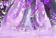 Spirit Bonds Background Charred Forest Bloomed