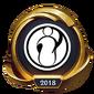 Worlds 2018 Invictus Gaming (Gold) Emote