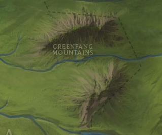 Greenfang Mountains