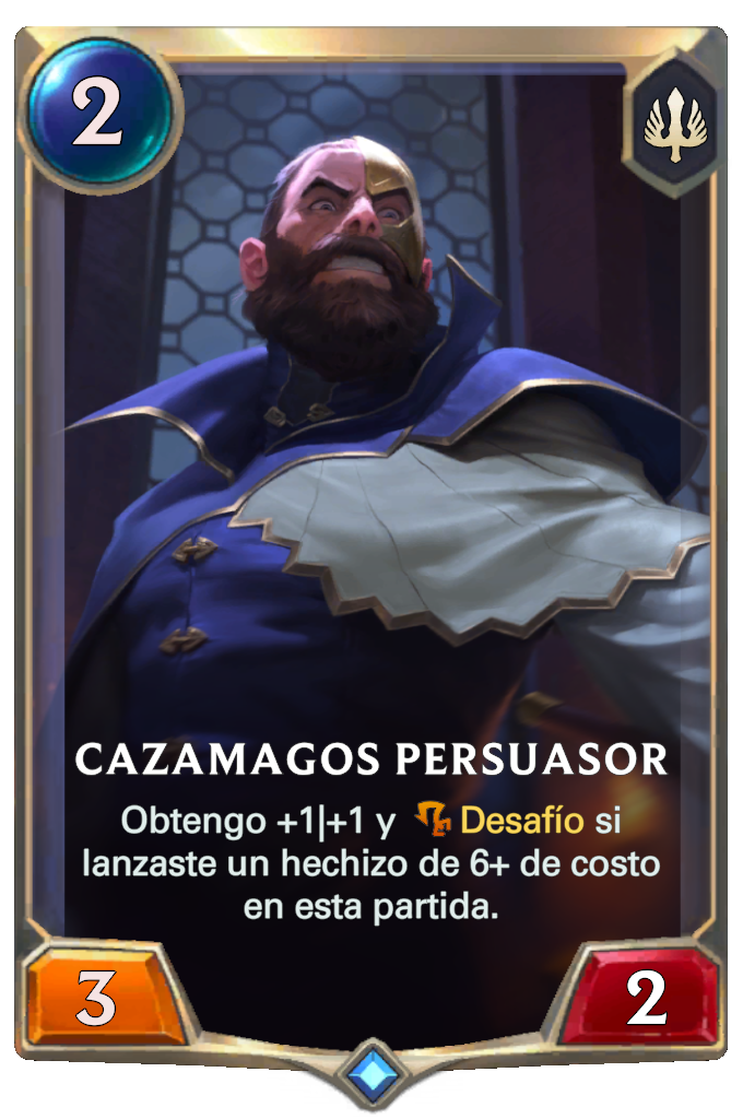 Cazamagos Persuasor (Legends of Runeterra)