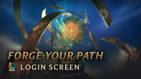 Forge Your Path - Login Screen