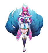 Spirit Bonds Model Ahri Neutral