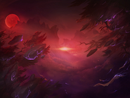 Hunt of the Blood Moon background