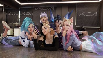 KDA ALL OUT Promo 12