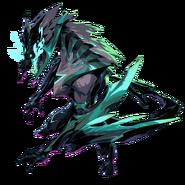RotS Model Shyvana Ruined Dragon form Roaring