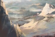 Spirit Bonds Background Mountains