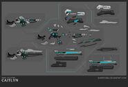 Caitlyn Pulsefire Concept 02