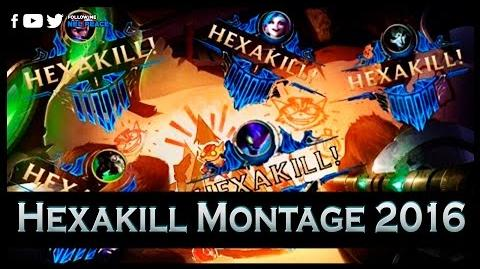 Epic Hexakill Montage 2016 - 1 vs 6