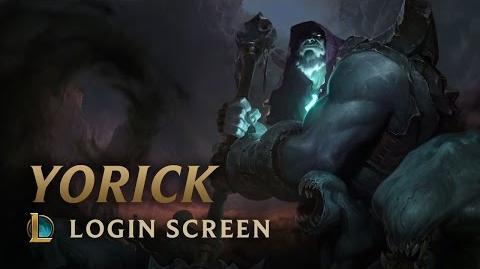 Yorick - ekran logowania