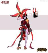 Sivir BloodMoon Concept 02